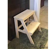 Best How do you make a step stool
