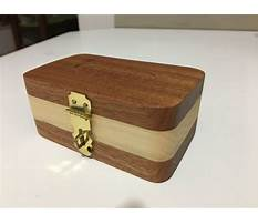 Best How do you make a wooden jewelry box