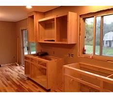 Best How do you make your own kitchen cabinets