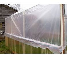 Best How to attach greenhouse plastic to wood frame