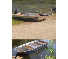 Best How to build a aluminum flat bottom boat