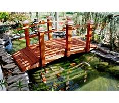 Best How to build a bridge in your backyard