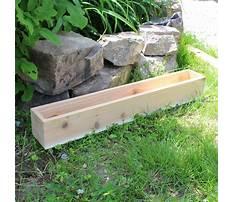 Best How to build a cedar planter box.aspx