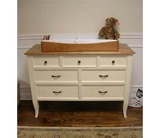 Best How to build a changing table dresser