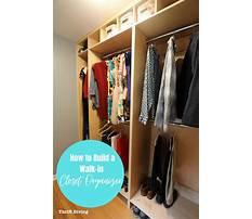 Best How to build a closet organizer from scratch.aspx