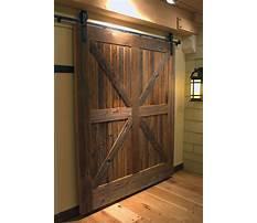 Best How to build a exterior barn door