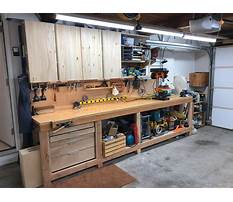 Best How to build a garage workbench video