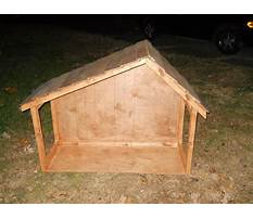 Best How to build a nativity crib