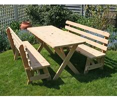 Best How to build a picnic table bench.aspx