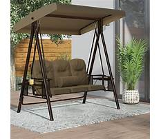 Best How to build a porch swing canopy frame