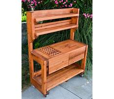 Best How to build a potting table plans