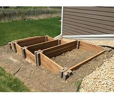 Best How to build a raised bed garden on a hill
