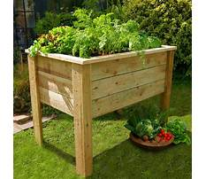 Best How to build a raised bed garden with legs