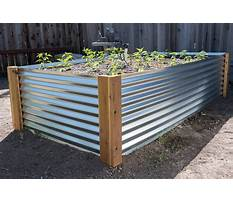 Best How to build a raised bed garden with metal