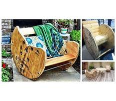 Best How to build a rocking chair from wooden spools