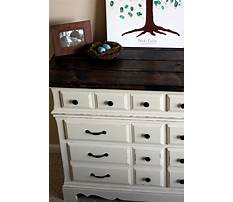 Best How to build a rustic dresser