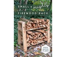Best How to build a simple wood rack