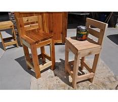 Best How to build a simple wooden bar stool
