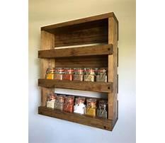 Best How to build a spice rack shelf