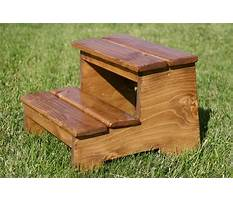 Best How to build a step stool for a child