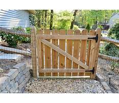 Best How to build a tall wooden gate