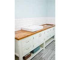 Best How to build a vanity for bathroom