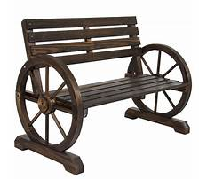 Best How to build a wagon wheel bench