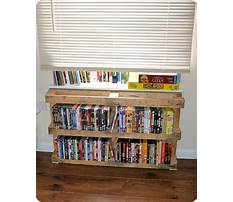 Best How to build a wall mounted dvd rack