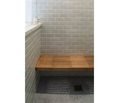 Best How to build a wood frame shower bench