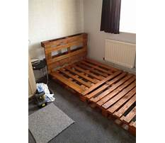 Best How to build a wood pallet bed frame