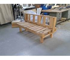 Best How to build a wood pallet bench seat