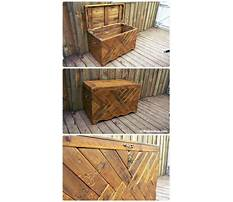 Best How to build a wood pallet chest