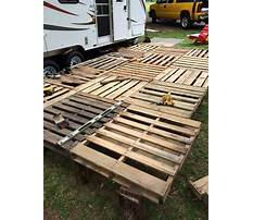 Best How to build a wood pallet deck