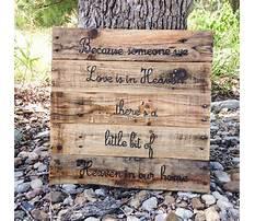 Best How to build a wood pallet plaque