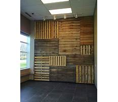 Best How to build a wood pallet wall
