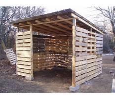 Best How to build a wood pallet well shed