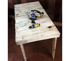 Best How to build a wood pallet workbench
