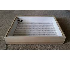 Best How to build a wooden light box