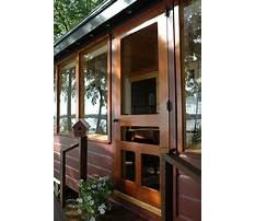 Best How to build a wooden screen door
