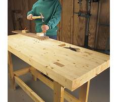 Best How to build a woodworkers workbench plans