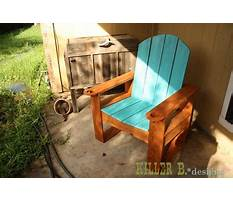 Best How to build an adirondack chair home depot.aspx