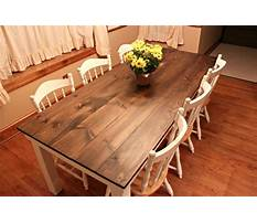 Best How to build bench for dining table