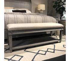 Best How to build bench for end of bed