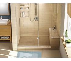 Best How to build bench for shower