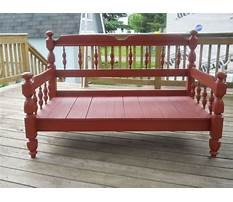 Best How to build bench from bed