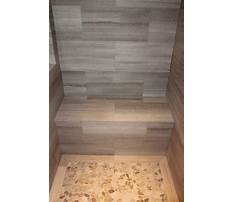 Best How to build bench in tile shower