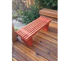 Best How to build bench seating on a patio