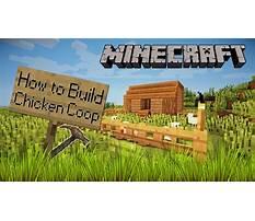 Best How to build chicken coop minecraft