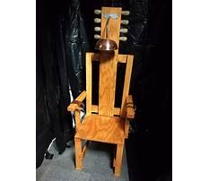 Best How to build electric chair for halloween