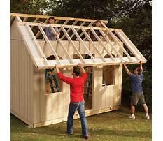 Best How to build garden sheds xls